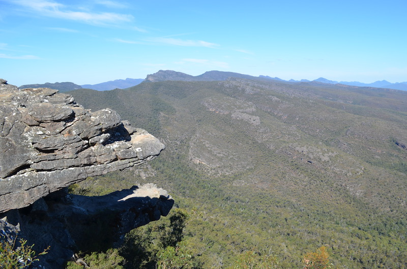 Balconies Felsen in Australien Grampians Nationalpark