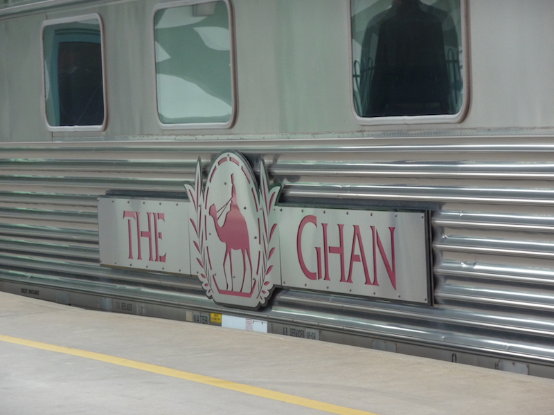The Ghan in Australien Zug ins Outback bis Alice Springs