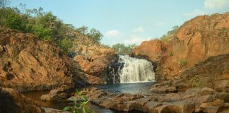 Edith Falls in Australien Outback