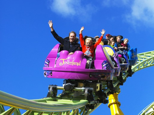 Toverland Entree.Schoolreis Toverland Brabant Expres