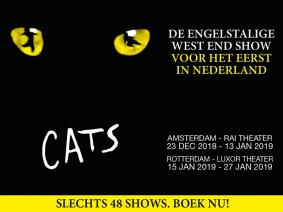 busreis Cats musical groepen