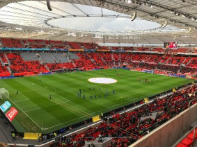 BayArena stadion Bayer Leverkusen