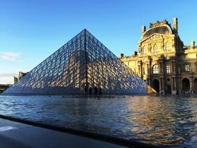 Louvre in Parijs