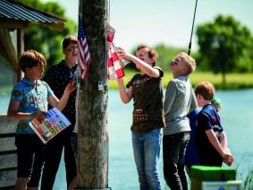 Schoolreis Team Biesbosch
