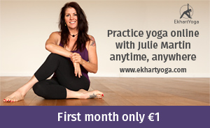 Julie Martin at EkhartYoga