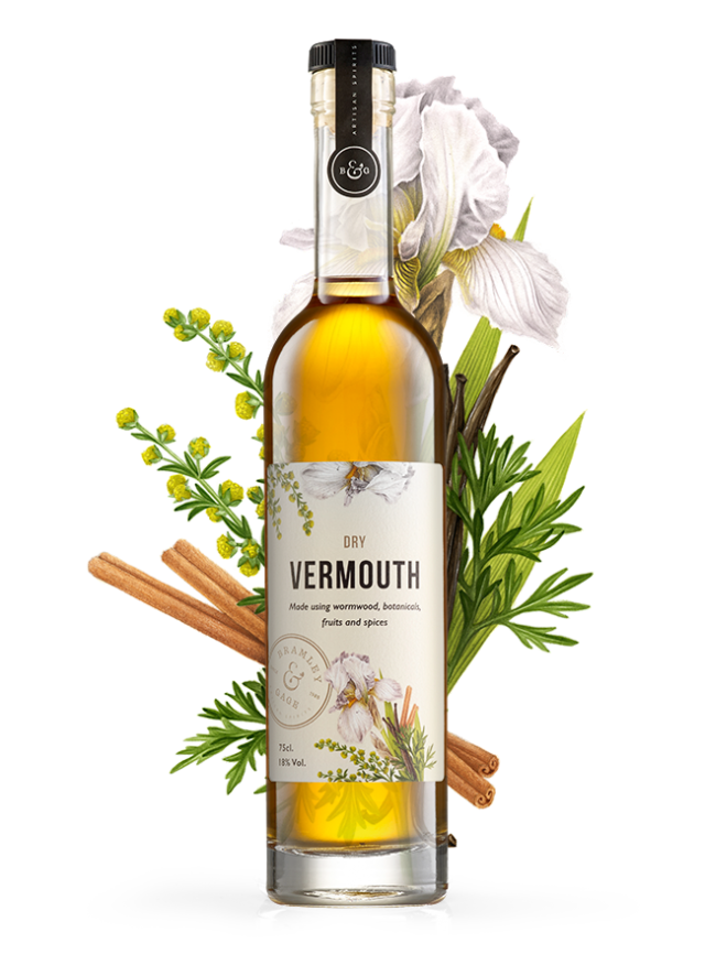 Dry Vermouth (37.5cl)  18% ABV.