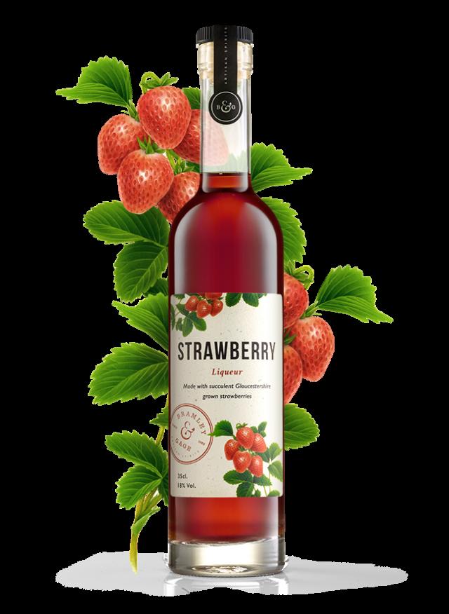 Strawberry Liqueur (35cl)  18% ABV.