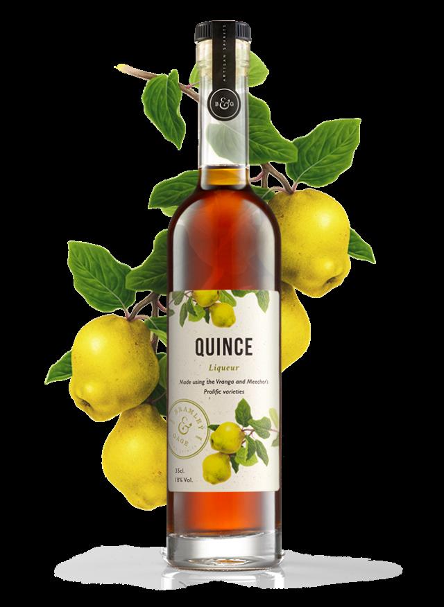 Quince Liqueur (35cl)  18% ABV.