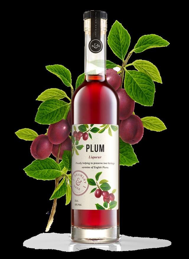 Plum Liqueur (35cl)  18% ABV.