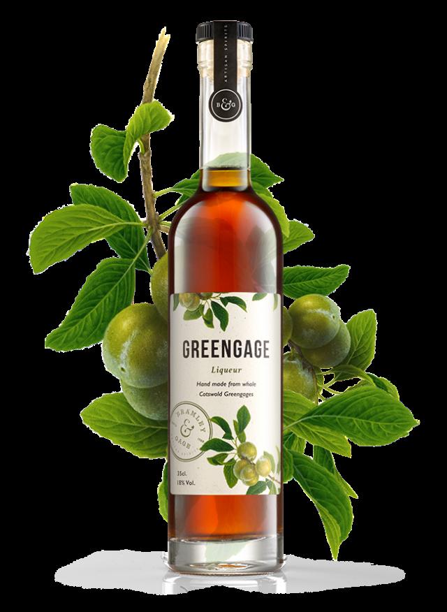 Greengage Liqueur (35cl)  18% ABV.