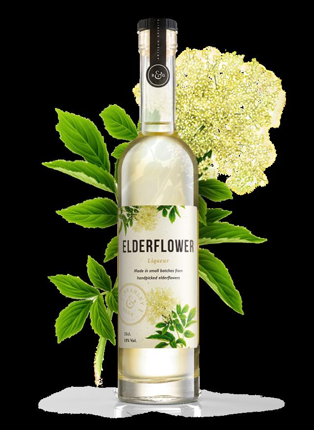 Elderflower Liqueur (35cl)  18% ABV.