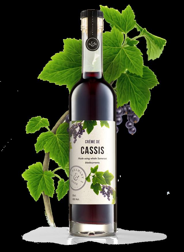Creme De Cassis (35cl)  18% ABV.