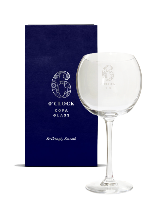 6 O'clock Gin Copa Glass (Gift Box)