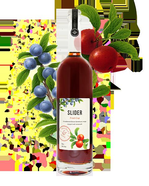 Slider Fruit Cup (70cl)  18% ABV.