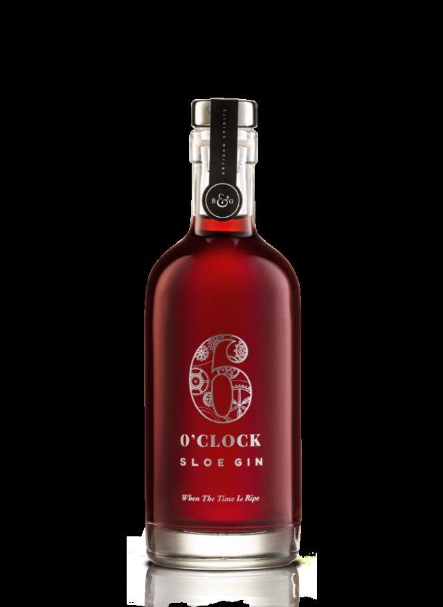 6 O'clock Sloe Gin (35cl) 26% ABV.