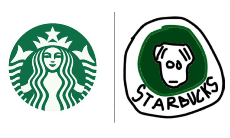 150-en megpróbálták emlékezetből lerajzolni 10 ismert márka logóját