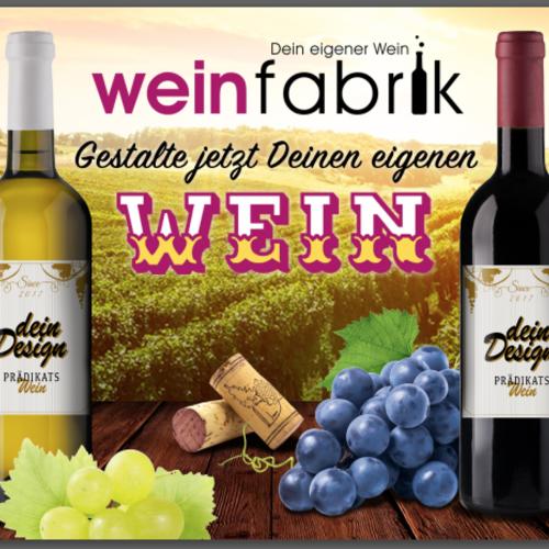 Weinfabrik - Jetzt Weinetiketten selbst gestalten