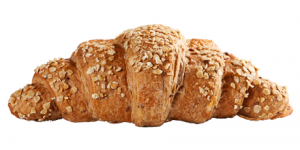 Multi-Cereal Croissant with Oats