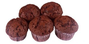 5 Mini Chocolate Muffins