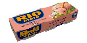 Rio Mare Solid Light Tuna In Olive Oil 3x80gm