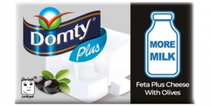 Domty Feta Cheese Plus Olive (250g)