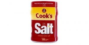 Cook's Ionized Table Salt (200g)