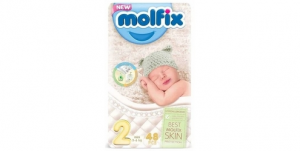 Molfix Mini Baby Diapers - Size 2 (48 Diapers)
