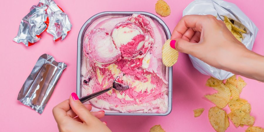 What's Eating You? Stress eating during a crisis