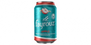 Fayrouz Apple Malt Drink (330ml)