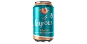 Fayrouz Peach Malt Drink (330ml)