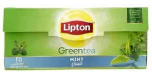 Lipton Green Tea With Mint (25 Bags)