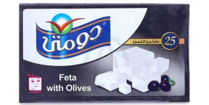 Domty Feta with Olives (250g)