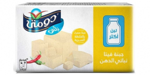 Domty Feta Yellow Cheese Plus (250g)