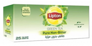 Lipton Pure Green Tea (25 Bags)