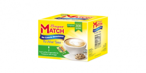 Sugar Match No Calorie Sweetener 1 teaspoon (300 Sachets)