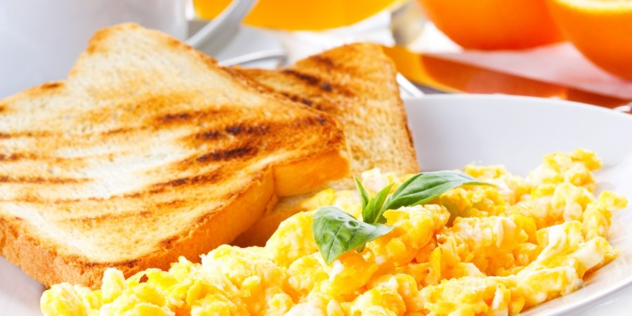 Diner Style Scrambled Eggs