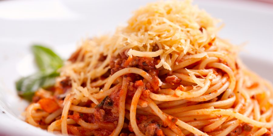 Slow Simmered Spaghetti Bolognese