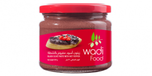 Wadi Food Black Olive Paste With Hot Pepper (300g)