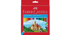 Faber Castell Classic Color Pencils (24Pieces)