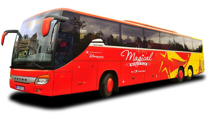 Disneyland Paris Magical shuttle bus