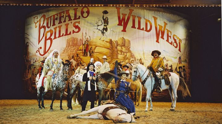 Disneyland Paris- Buffalo Bill wild west show