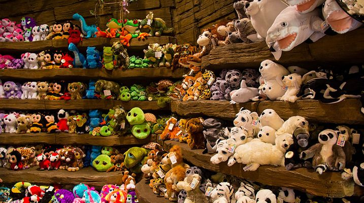 Rainforest Cafe store