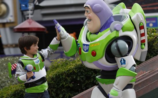 Disneyland Paris - Buzz Lightyear Laser Blast