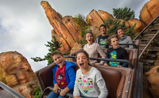 Disneyland Paris - Big Thunder Mountain