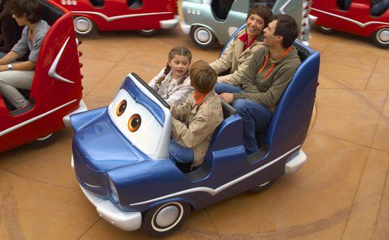 Disneyland Paris - Cars Race Rally