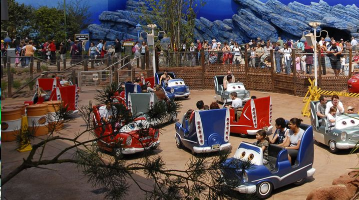 Disneyland Paris - Cars Race Rally