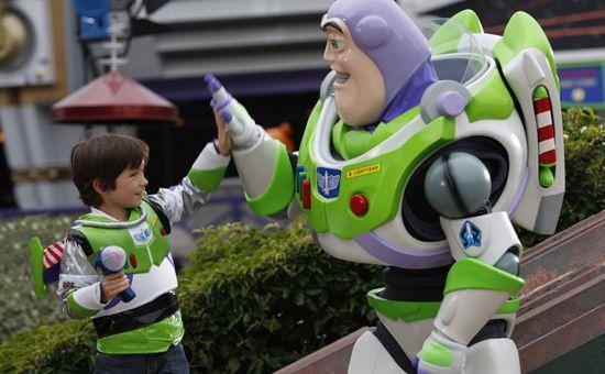 Disneyland Paris - Buzz Lightyear Laser Blast