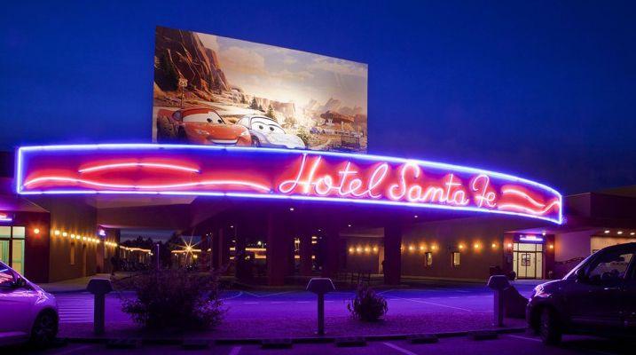 Disneyland Paris - Hotel Santa Fe
