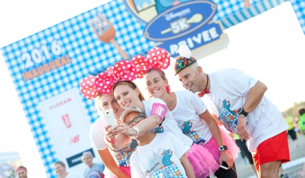 Disneyland Paris fun run