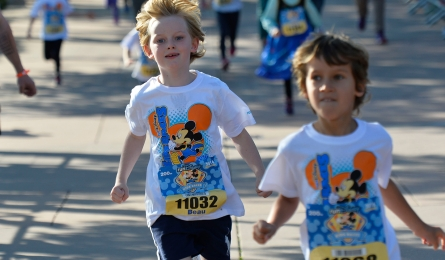 Disneyland Paris kids run
